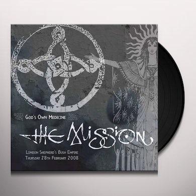 The Mission GODS OWN MEDICINE Vinyl Record