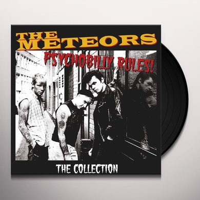 The Meteors PSYCHOBILLY RULES / COLLECTION Vinyl Record