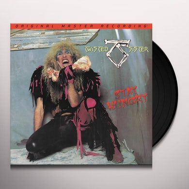 Twisted Sister STAY HUNGRY Vinyl Record