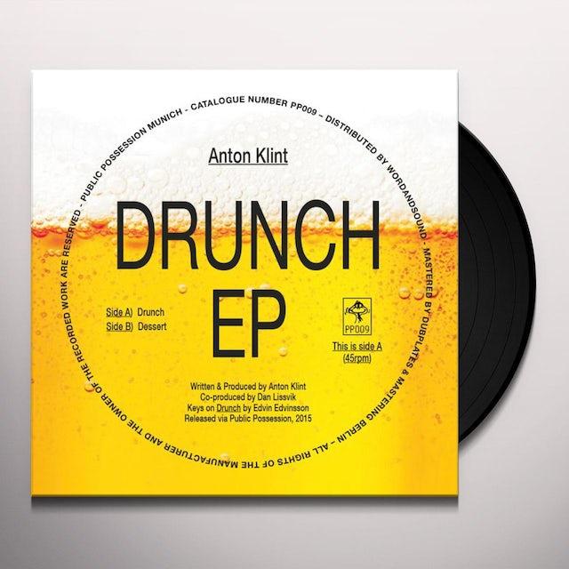 Anton Klint DRUNCH Vinyl Record