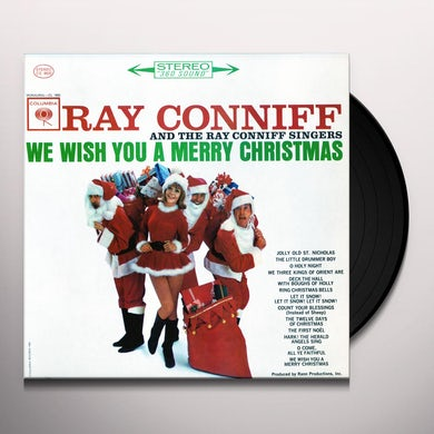 The Ray Conniff Singers WE WISH YOU A MERRY CHRISTMAS Vinyl Record