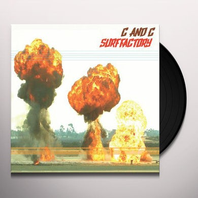 C & C SURF FACTORY GARAGE CITY Vinyl Record