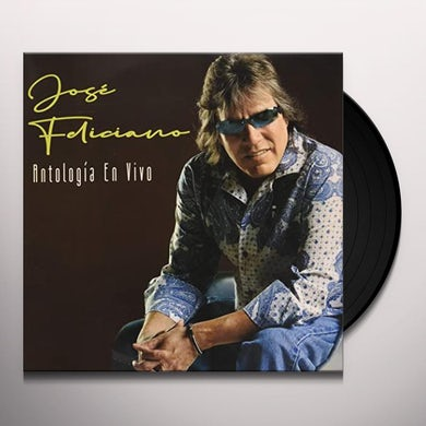 Jose Feliciano ANTOLOGIA EN VIVO Vinyl Record