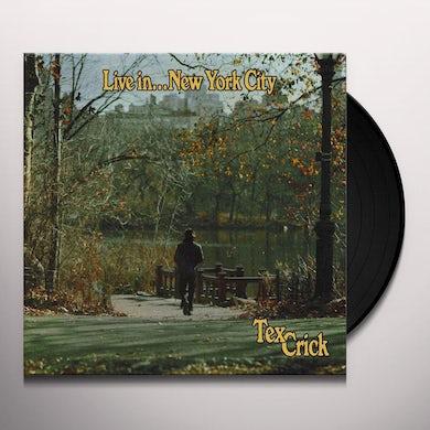Live In...New York City (LP) Vinyl Record