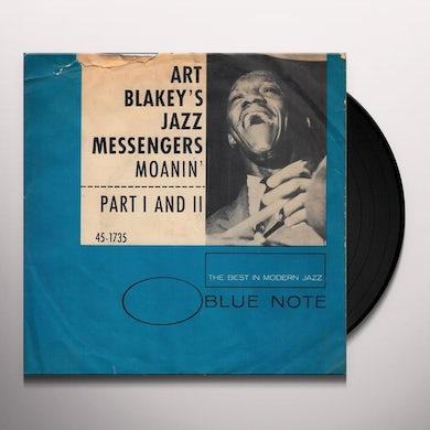 Art Blakey / Jazz Messengers MOANIN Vinyl Record