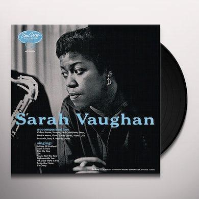 Sarah Vaughan WITH CLIFFORD BROWN Vinyl Record