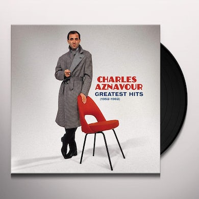 Charles Aznavour 20 GREATEST HITS (1952-1962) Vinyl Record