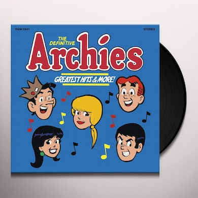 DEFINITIVE ARCHIES - GREATEST HITS & MORE Vinyl Record