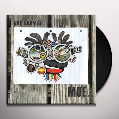moe. Not Normal (Blue Galaxy LP) Vinyl Record
