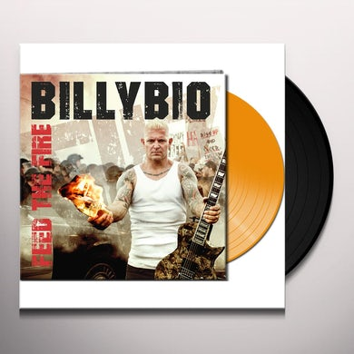 Billybio FEED THE FIRE (ORANGE VINYL) Vinyl Record