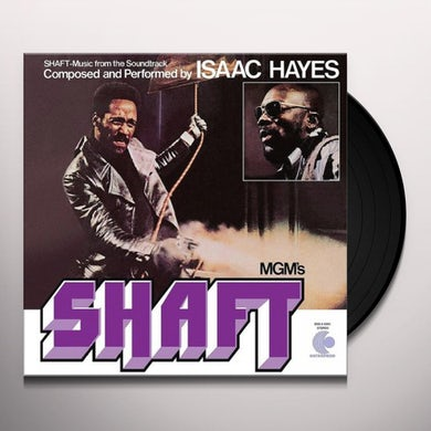 Isaac Hayes SHAFT (MUSIC FROM THE SOUNDTRACK) Vinyl Record
