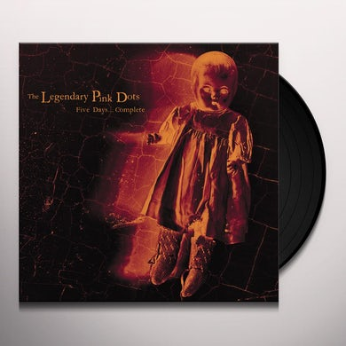 The Legendary Pink Dots FIVE DAYS...COMPLETE Vinyl Record