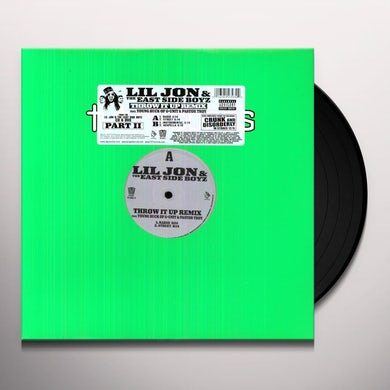 Lil Jon THROW IT UP Vinyl Record