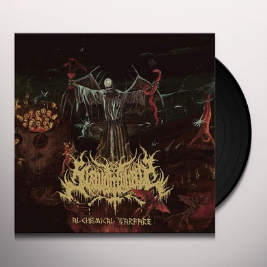 Slaughtbbath ALCHEMICAL WARFARE Vinyl Record