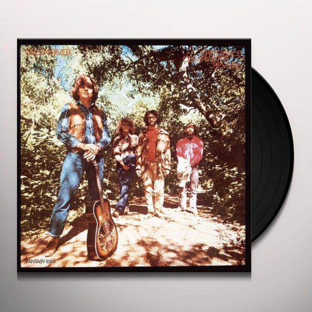 Creedence Clearwater Revival GREEN RIVER Vinyl Record
