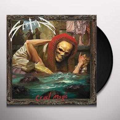 Satan CRUEL MAGIC Vinyl Record