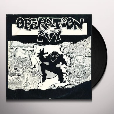 Operation Ivy ENERGY (CLEAR) Vinyl Record