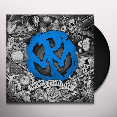 Pennywise NEVER GONNA DIE (OPAQUE BLUE) Vinyl Record