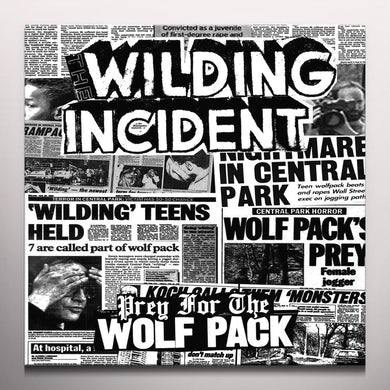 WILDING INCIDENT PREY FOR THE WOLFPACK Vinyl Record