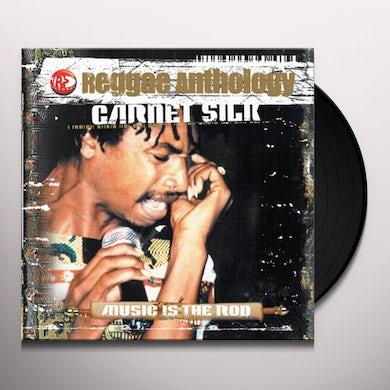 Garnett Silk REGGAE ANTHOLOGY: MUSIC IS THE ROD Vinyl Record