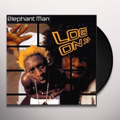 Elephant Man LOG ON Vinyl Record