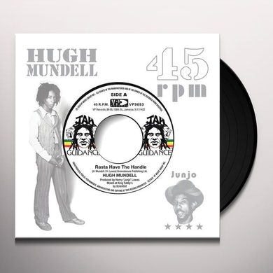 Hugh Mundell RASTA HAVE THE HANDLE Vinyl Record