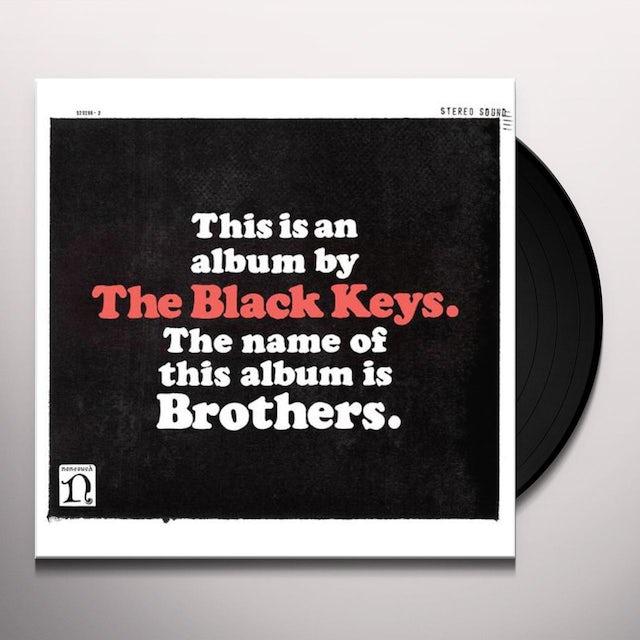 Black Keys BROTHERS Vinyl Record