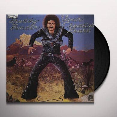 Freddy Fender YOUR CHEATIN' HEART Vinyl Record