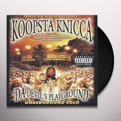 DA DEVIL'S PLAYGROUND Vinyl Record