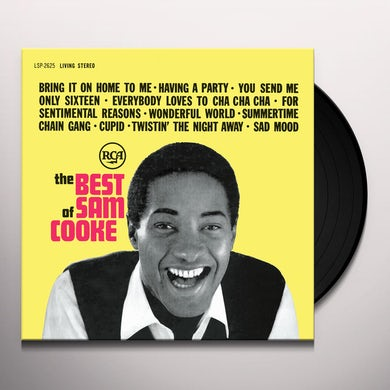Sam Cooke BEST OF Vinyl Record