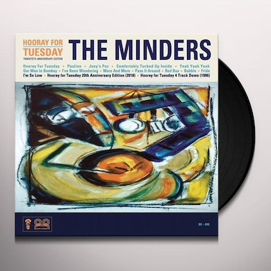 Minders HOORAY FOR TUESDAY 20TH ANNIVERSARY EDITION Vinyl Record