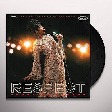 Jennifer Hudson RESPECT (Original Motion Picture Soundtrack) Vinyl Record
