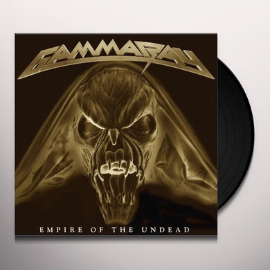Gamma Ray EMPIRE OF THE UNDEAD Vinyl Record