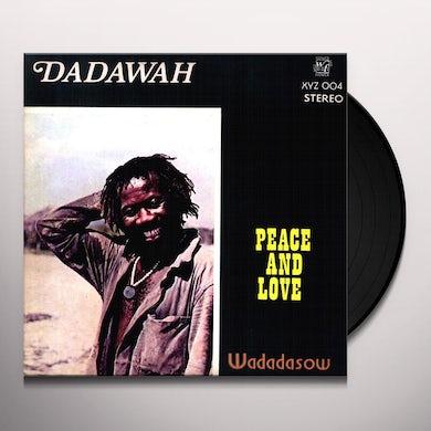 Dadawah PEACE & LOVE Vinyl Record