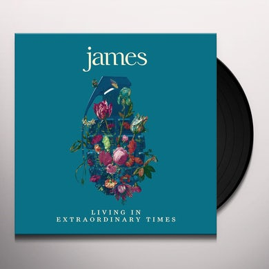 James LIVING IN EXTRAORDINARY TIMES (2LP) Vinyl Record