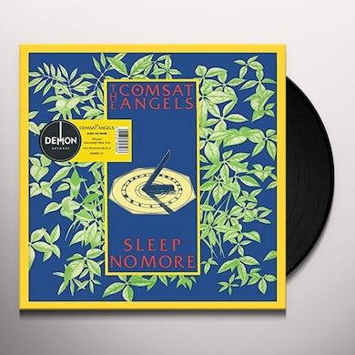 Comsat Angels SLEEP NO MORE Vinyl Record