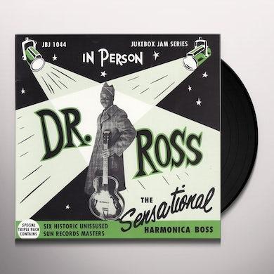 Doctor Ross SENSATIONAL HARMONICA BOSS Vinyl Record - UK Release