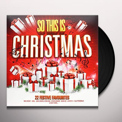 SO THIS IS CHRISTMAS / VARIOUS Vinyl Record