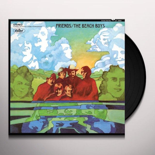 The Beach Boys FRIENDS Vinyl Record
