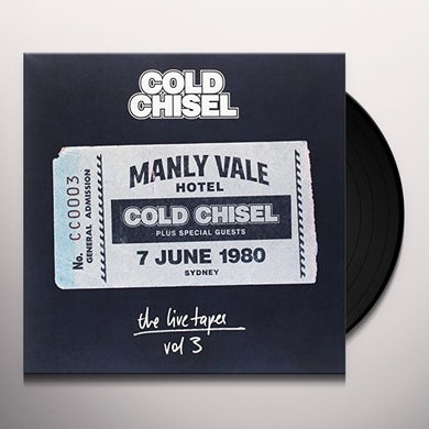 Cold Chisel LIVE TAPES 3: LIVE AT THE MANLY VALE HOTEL SYDNEY Vinyl Record