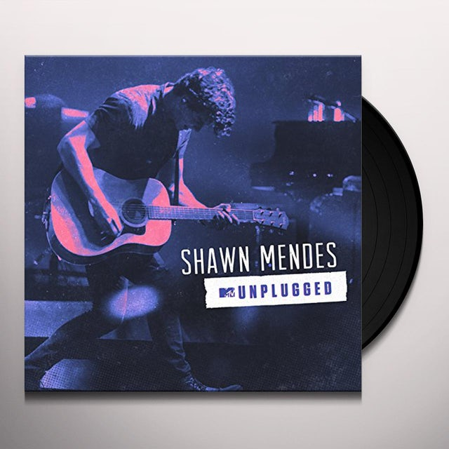 Shawn Mendes MTV UNPLUGGED Vinyl Record