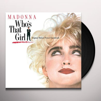 Madonna Who's That Girl (Clear) Vinyl Record
