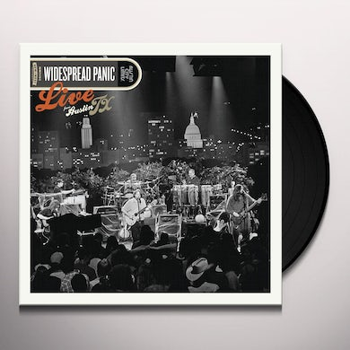 Widespread Panic LIVE FROM AUSTIN TX Vinyl Record