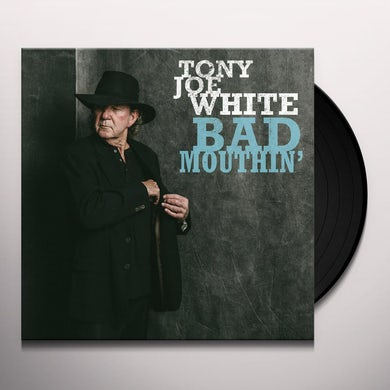 Tony Joe White BAD MOUTHIN' - Limited Edition White Colored Vinyl Record
