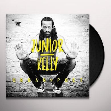 Junior Kelly URBAN POET (2LP) Vinyl Record - Canada Release