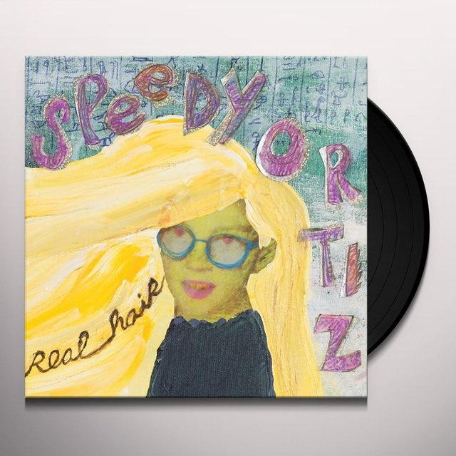 Speedy Ortiz REAL HAIR Vinyl Record