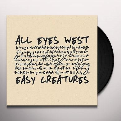 All Eyes West / Easy Creatures SPLIT 7 Vinyl Record