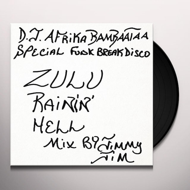 JIMMY JIM ZULU RAIN HELL MIX Vinyl Record