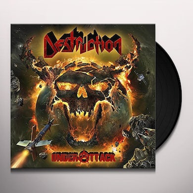 Destruction UNDER ATTACK Vinyl Record