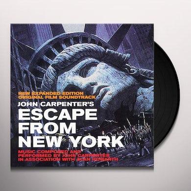 John Carpenter ESCAPE FROM NEW YORK / Original Soundtrack Vinyl Record